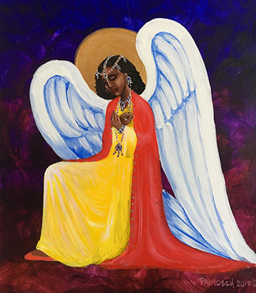 Painting Of Angel