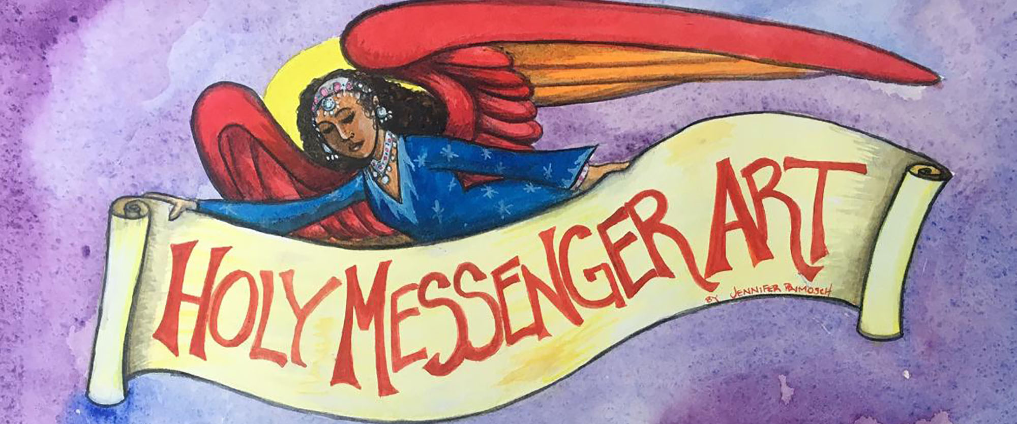 Holy Messenger Art
